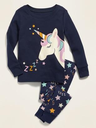 Old Navy Unicorn Pajama Sleep Set for Toddler Girls & Baby