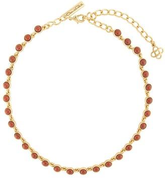 Oscar de la Renta Embellished Necklace