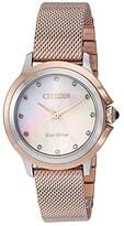 Citizen Watches EM0796-75D Ceci (Pink Gold-Tone) Watches