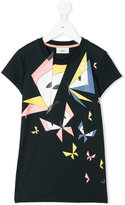Fendi geometric butterfly print T-shirt - kids - Cotton - 4 yrs