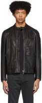 Belstaff Black Leather V Racer 2.0 Jacket