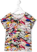 Kenzo Dancing Cactus print T-shirt - kids - Cotton/Spandex/Elastane - 8 yrs