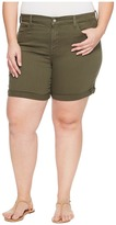 NYDJ Plus Size - Plue Size Avery Shorts in Topiary Women's Shorts