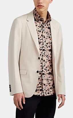 Lanvin Men's Wool Twill Two-Button Sportcoat - Light Gray