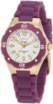 Invicta Women's 1620 Angel White Dial Grape Silicone Watch