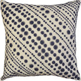Asstd National Brand Idea Nuova Republic Blue Dot Decorative Pillow