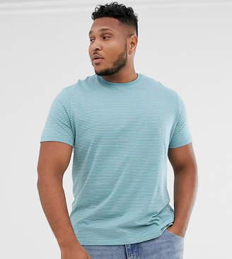 New Look Plus t-shirt in blue stripe