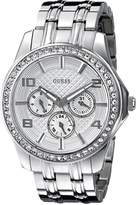 GUESS GUESS? Women's U0147L1 Stainless-Steel Quartz Watch