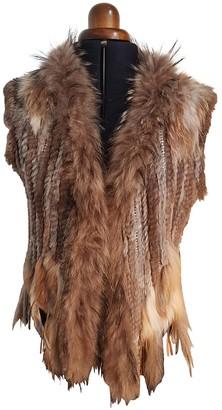 Oakwood Brown Rabbit Jacket for Women