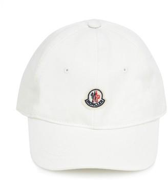 Moncler Enfant Logo cotton cap
