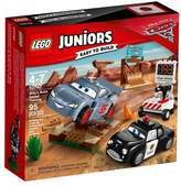 Lego ; Juniors DisneyPixar Cars 3 Willy's Butte Speed Training 10742