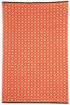 Kimberley Orange Geometric Rug