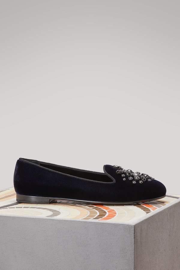Church's Neve velvet loafers
