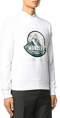 Moncler Mountain Graphic Sweatshirt
