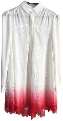 ICB White Silk Dress for Women