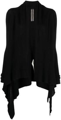 Rick Owens Asymmetric Knitted Cardigan