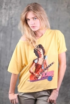 Chaser LA T-Rex Get It On Boxy Tee in Mustard