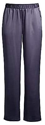 Eileen Fisher Women's Straight Satin Pants
