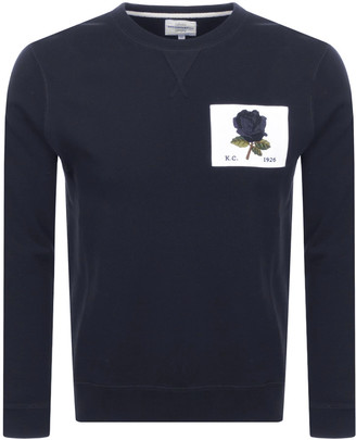 Kent And Curwen 1926 Icon Sweatshirt Navy