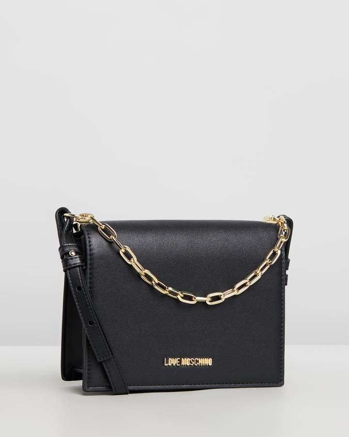 ee98b6d0e0 Love Moschino Black Shoulder Bags for Women - ShopStyle Australia