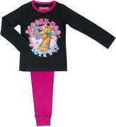 Cartoon Character Products Warner Brothers Scooby Doo Girls Pyjamas - Age 3-10 Years - Pink 5-6 Years