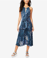 Rachel Roy Claudette Tie-Front Midi Dress, Only at Macy's