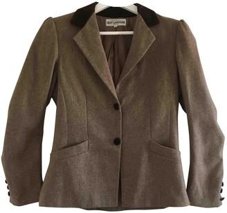 Guy Laroche Beige Wool Jacket for Women