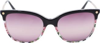 Dolce & Gabbana Rose Print Sunglasses