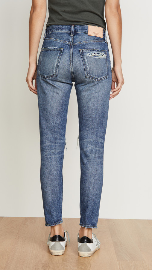 Thumbnail for your product : Moussy Beckton Tapered Jeans