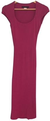 Yigal Azrouel Pink Wool Dress for Women