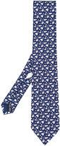 Salvatore Ferragamo animal print tie - men - Silk - One Size