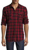 Globe Midnight Checkered Sportshirt