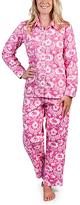 Malabar Bay Pink Jaipur Sateen Pajama Set