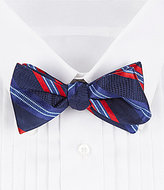 Daniel Cremieux Fancy Stripe Silk Bow Tie