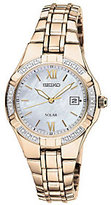 Seiko Women's Goldtone Diamond Accent Watch