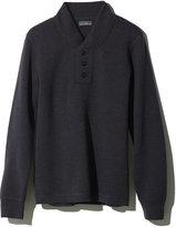 L.L. Bean Signature Italian Merino Sweater, Henley