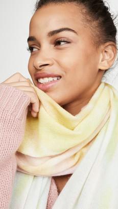 White + Warren Tie Dye Mini Cashmere Travel Wrap