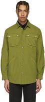 Moschino Green Military Shirt