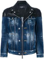 DSQUARED2 zipped denim jacket