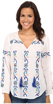 Kas Juana Embroidered Peasent Blouse