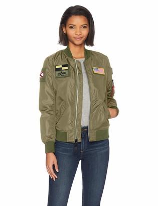 Alpha Industries Women's L-2B Flex W Flight Jacket