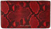 Marc Jacobs Block Letter Snake Wallet Leather Strap