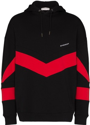Givenchy Contrast Stripe Hoodie