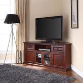Crosley 60 in. Corner TV Stand in Mahogany