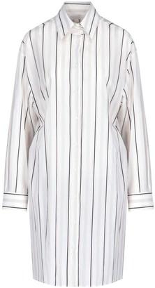 Maison Margiela Pinstripe Shirt Dress