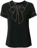 Moschino bow motif T-shirt