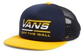 Vans Boy's Mercer Trucker Hat - Blue