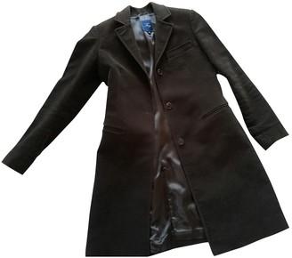 Fay Brown Velvet Coat for Women