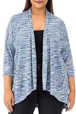 Baobab Collection Luann Space-Dyed Open-Front Cardigan