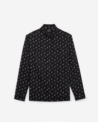 The Kooples Casual black printed shirt